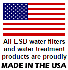 Free shipping on water filters, water treatment and drinking water systems to the Lower 48 USA States.